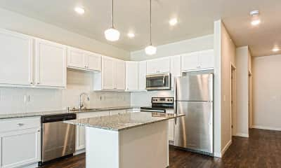 Kitchen, The Grove Apartments, 0
