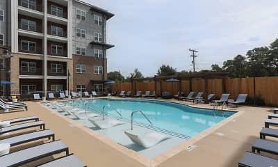 Pool, North Pointe, 1