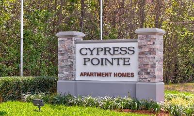 Community Signage, Cypress Pointe, 2