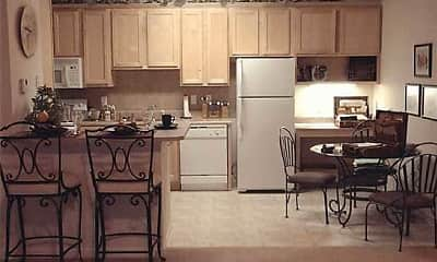 Kitchen, Broad Trace Apartments, 1
