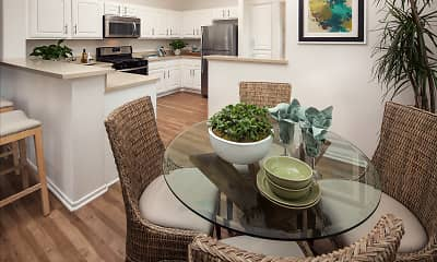 Dining Room, Torrey Hills Apartment Homes, 0