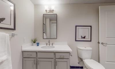 Bathroom, The Collar Factory Lofts, 2