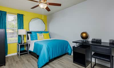 Bedroom, Reflections Apartments - Per Bed Lease, 2