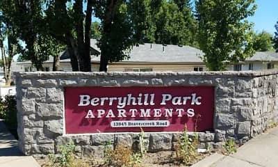 Community Signage, Berryhill Park Apartments, 2