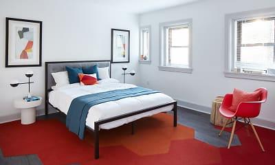 Bedroom, Newbern Apartments, 0