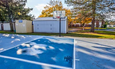 Basketball Court, The Brandt at 6851, 2