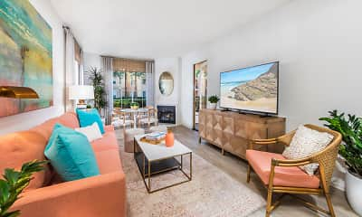 Living Room, Newport Ridge, 1