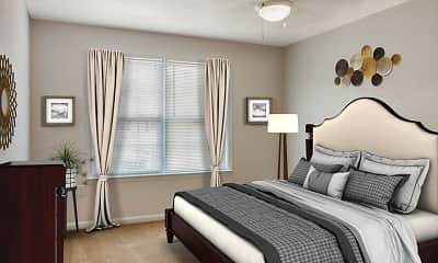 Bedroom, Hunter Army Airfield, 1
