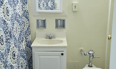 Bathroom, Shoreland Manor Apartments, 2