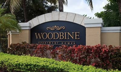 Community Signage, Woodbine Apartments, 2