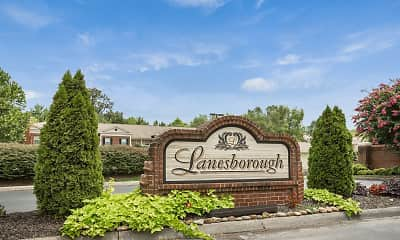 Community Signage, Lanesborough, 0