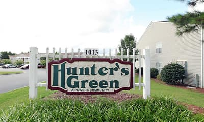 Community Signage, Hunter's Green Apartments, 1