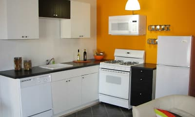 Kitchen, The ViBE on Thomas, 1