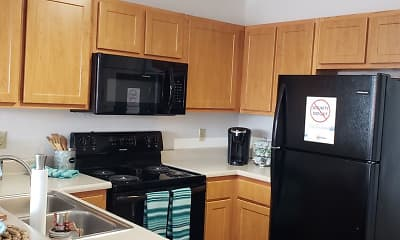 Kitchen, Foxhill Townhomes, 1