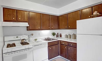 Kitchen, Twin Lakes Manor, 1