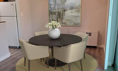 Dining Room, Grandview Pointe Apartments, 1