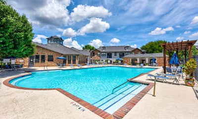 Pool, Saddle Brook Apartments, 1