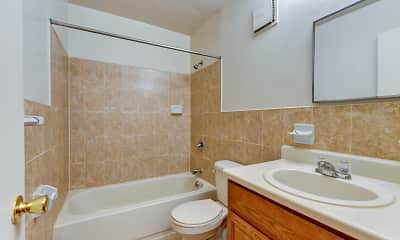 Bathroom, Mill Brook Village, 2
