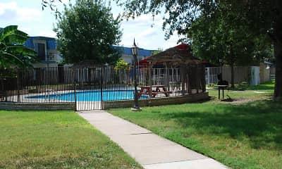 Pool, Camino Del Rey Apartments, 1