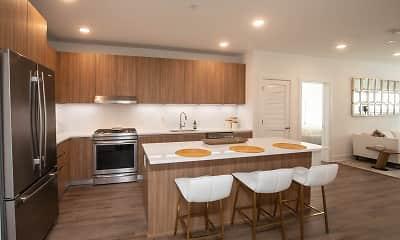Kitchen, The Dayton Luxury Apartments, 1