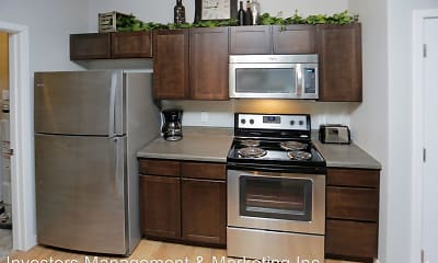 Kitchen, North Highlands Apartments, 1