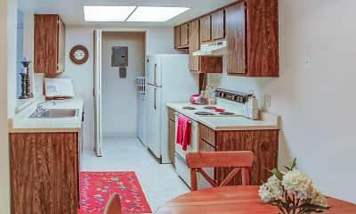 Kitchen, Park Vista Apartments, 1