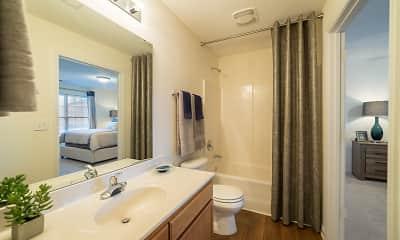 Bathroom, Laurel Springs, 2