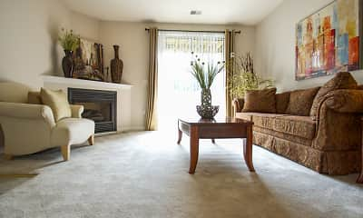 Living Room, Ventana Hills Apartments, 0