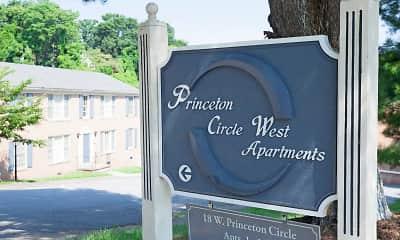 Community Signage, Princeton Circle, 2