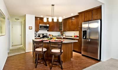 Kitchen, The Edina Towers, 2