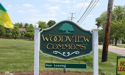 Community Signage, Woodview Commons, 2