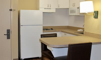 Kitchen, Furnished Studio - North Chesterfield - Arboretum, 1