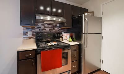 Kitchen, Parkview Apartments, 1