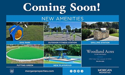 Community Signage, Morgan Woodland Acres Townhomes, 2