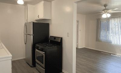 Kitchen, 17th Street Apartments, 0