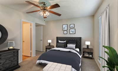 Bedroom, Cinnamon Park Apartments, 2