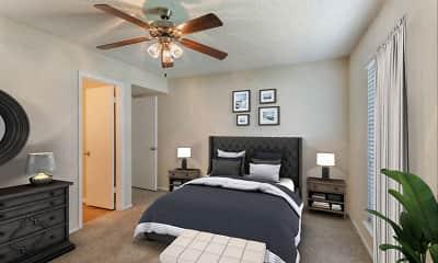 Bedroom, Cinnamon Park Apartments, 2