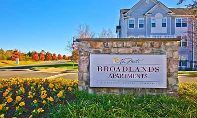 Community Signage, Broadlands Apartments, 1