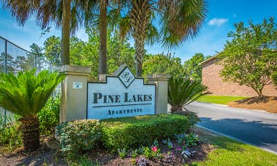 Community Signage, Pine Lakes, 0