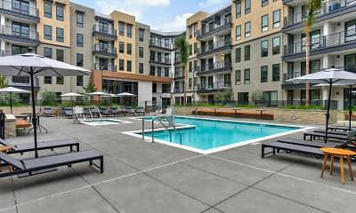 Pool, MV Apartments, 2