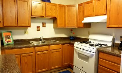 Kitchen, Greenbrook Apartments, 0