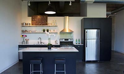 Kitchen, Junior House Lofts, 2