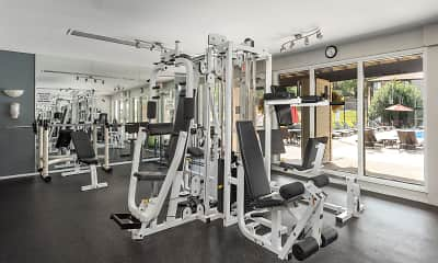 Fitness Weight Room, Whisper Hollow Apartments, 1