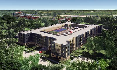 Rendering, The Edge at Cottage Grove Commons, 0