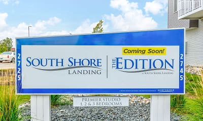 Community Signage, South Shore Landing, 2