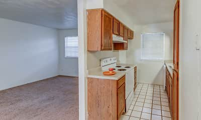Kitchen, Summerplace Apartments, 1