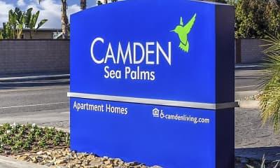 Community Signage, Camden Sea Palms, 2