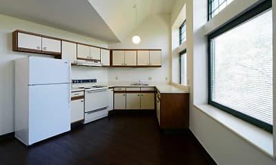 Kitchen, Drake Plaza, 1