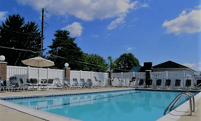 Pool, Heron Springs Apartments, 2
