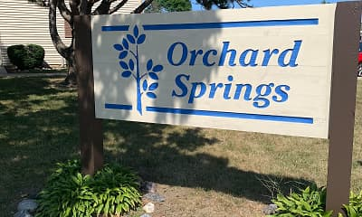Community Signage, Orchard Springs, 2